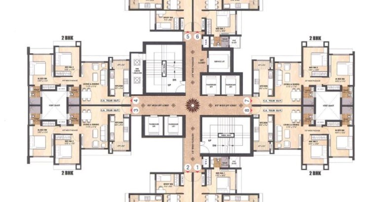 100 Above Floor Plan