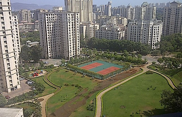 Rodas Enclave Annora Hiranandani Estate Views
