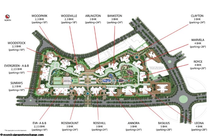 Rodas Enclave Rosehill Layout