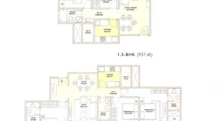 Palazzio Floor Plan I