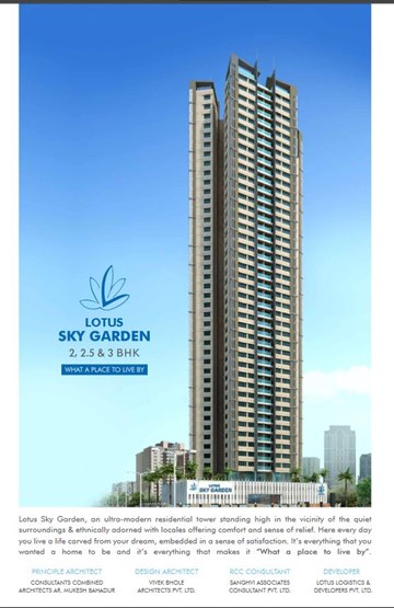 Lotus Sky Gardens, Malad West