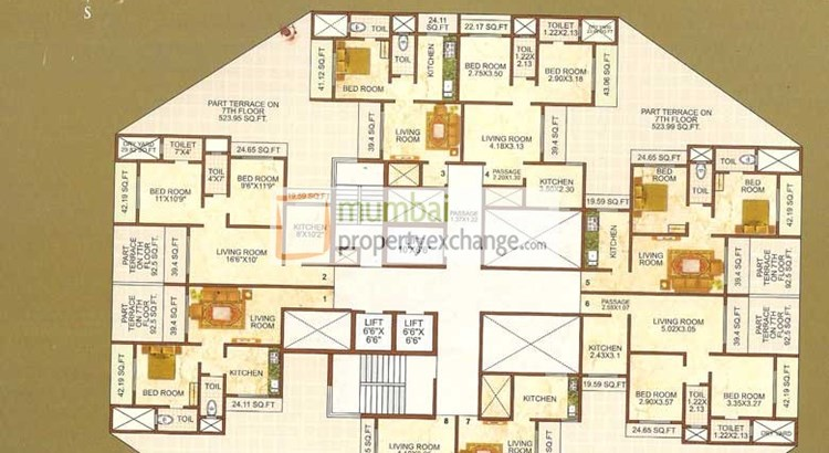 Shiv Bliss Floor plan 3