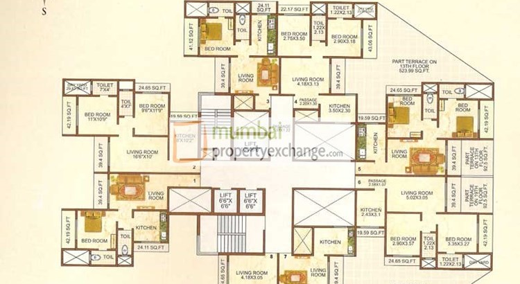 Shiv Bliss Floor plan 4