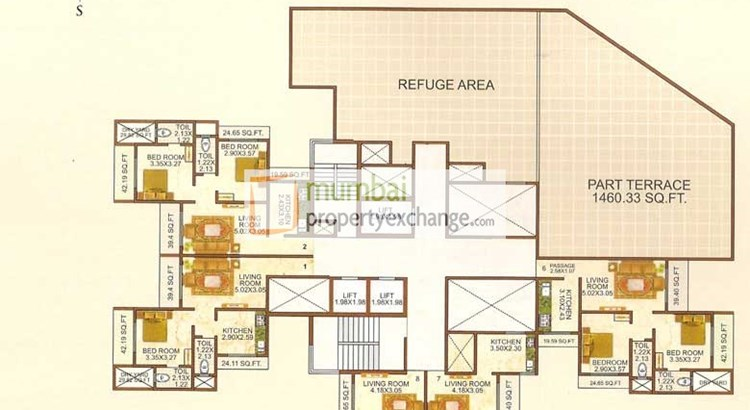 Shiv Bliss Floor plan 5