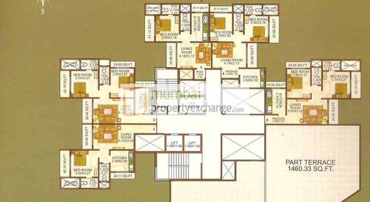 Shiv Bliss Floor plan 6