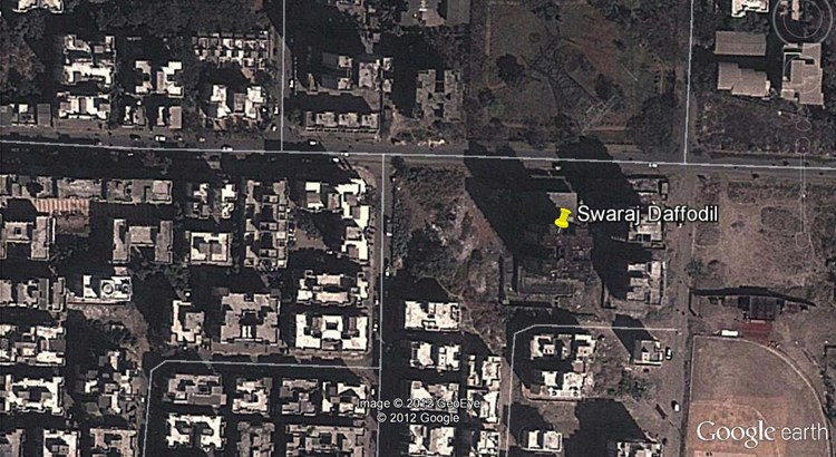 Swaraj Daffodils Google Earth