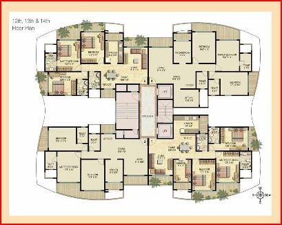 Imperial Residency Floor Plan I