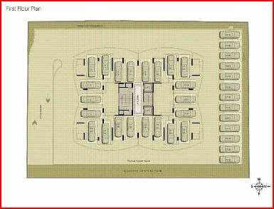 Imperial Residency Floor Plan II