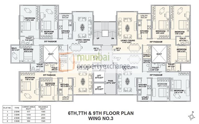 Hubtown Seasons Floor Plan