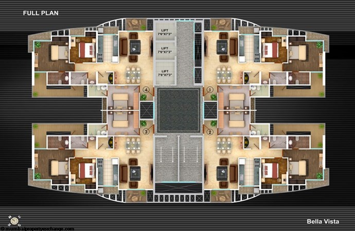Bella Vista Floor Plan II