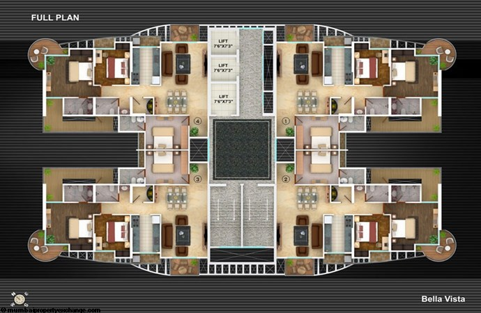 Bella Vista Floor Plan III
