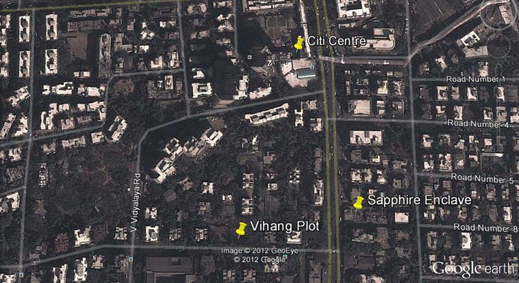 Vihang Google Earth