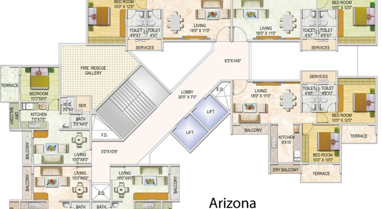 Monarch Brookefields Floor Plan
