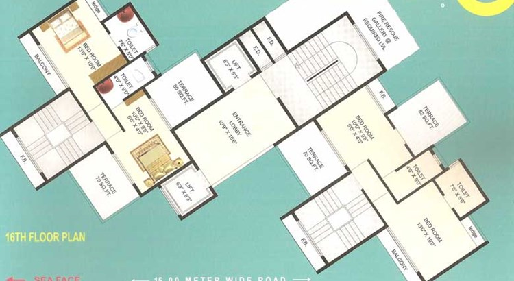 Palm Beach Heights Floor Plan I