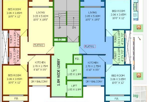 E V Castle Floor Plan