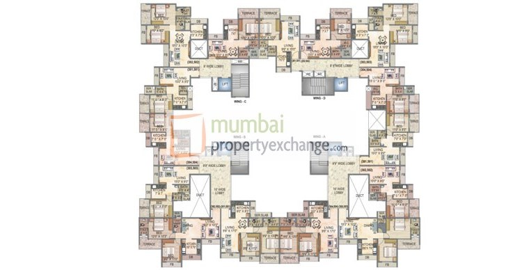 Sai Harmony Floor Plan 1