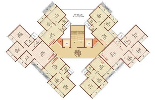 Marvel Nandan Floor Plan