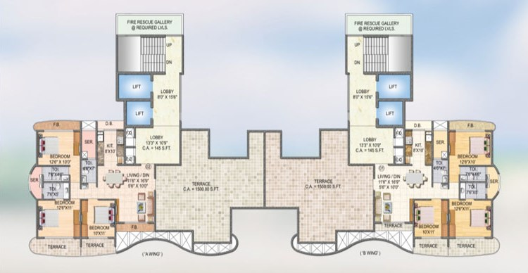 Sai Miracle Floor Plan 2