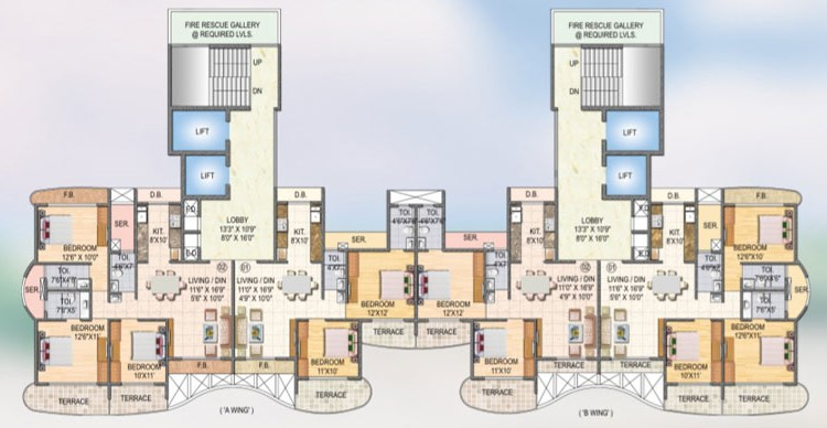 Sai Miracle Floor Plan 4