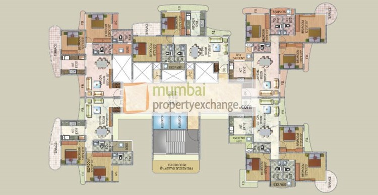 Sai Enclave Floor Plan 1