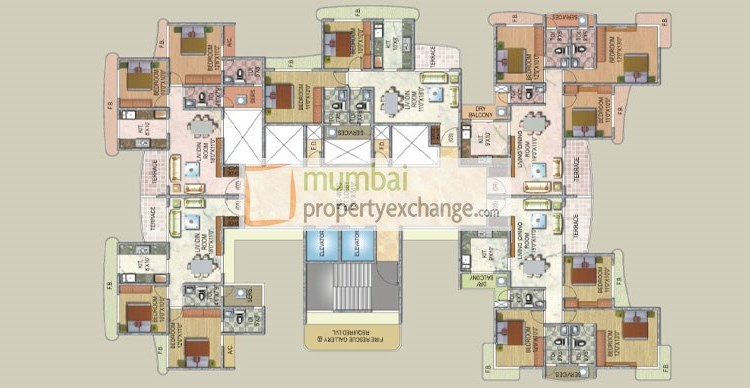Sai Enclave Floor Plan 2