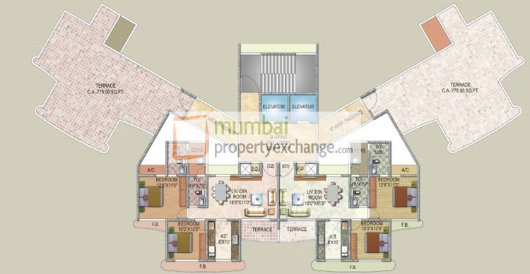Sai Enclave Floor Plan 3