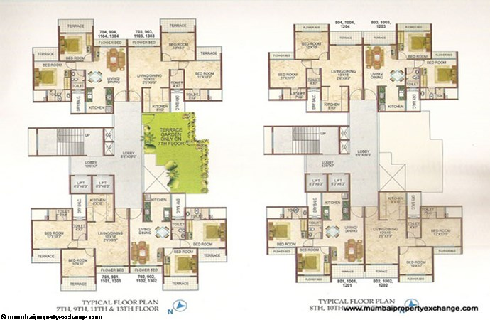 Lakhani Blue Waves Floor Plan