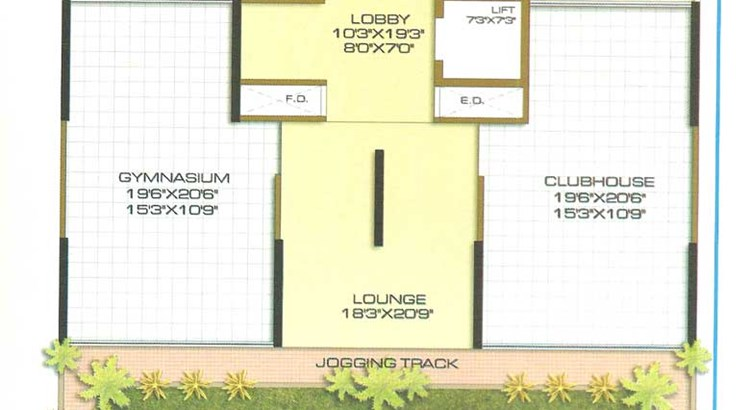 Sai Anant Floor Plan 2