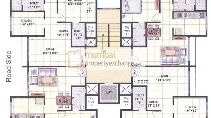 Mahaavir Vatika and Arpan Floor Plan