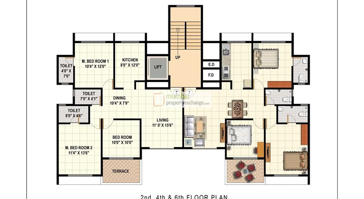 Mahaavir Vatika and Arpan Floor Plan I