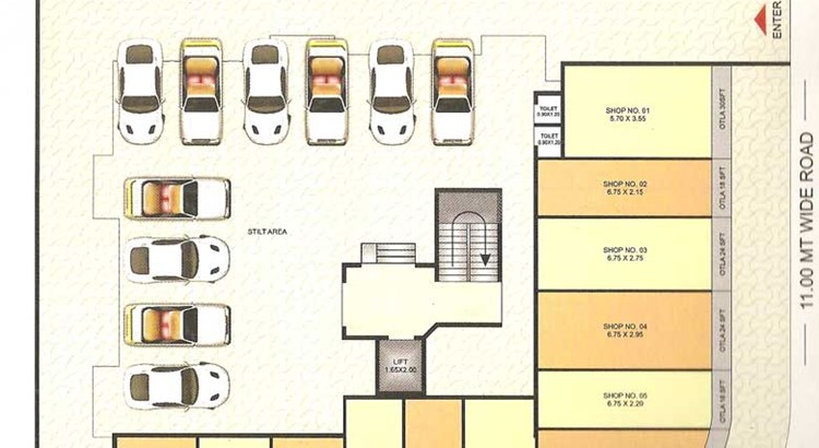 Imperial Residency Floor Plan 1