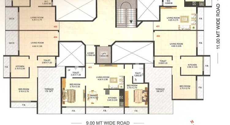 Imperial Residency Floor Plan 2