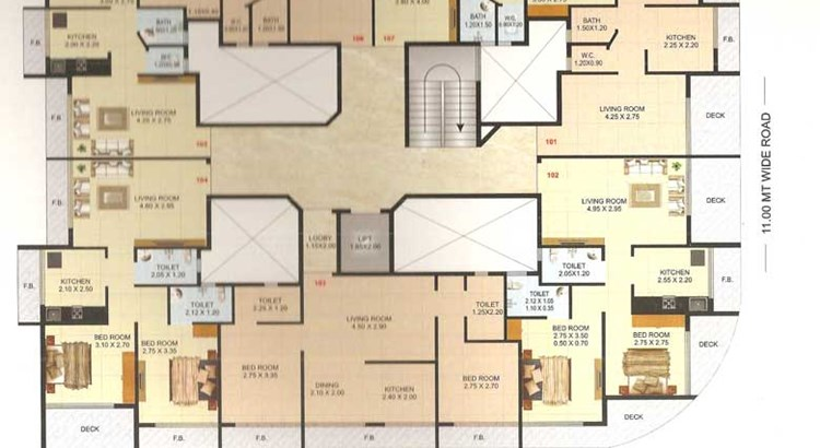 Imperial Residency Floor Plan 3