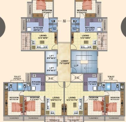 Planet Venus Floor Plan