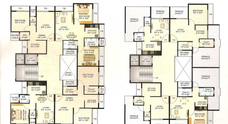 Royal Residency Floor Plan 1