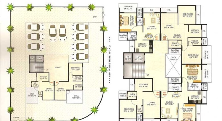 Royal Residency Floor Plan 2