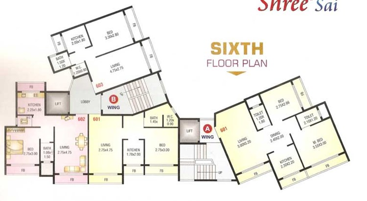 Shree Sai Floor Plan 1