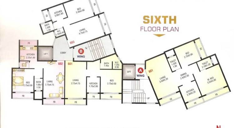 Shree Sai Floor Plan 19