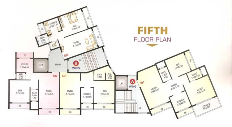 Shree Sai Floor Plan 3