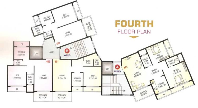 Shree Sai Floor Plan 4