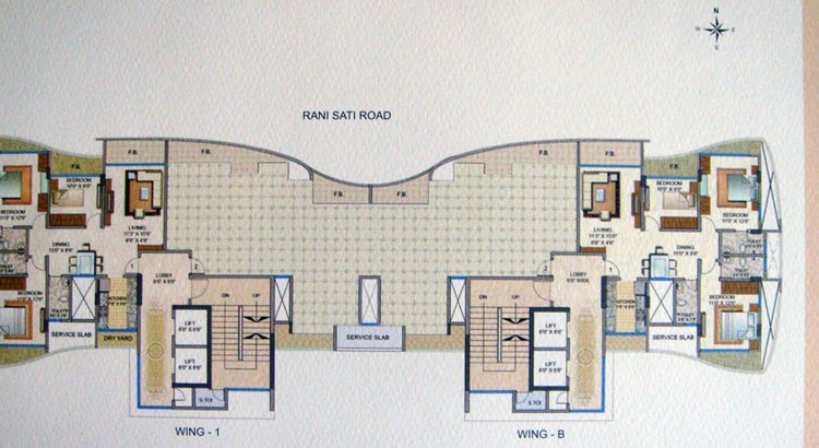 ABT Apartments Floor Plan 1