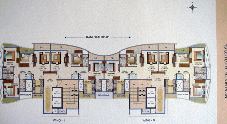 ABT Apartments Floor Plan 2