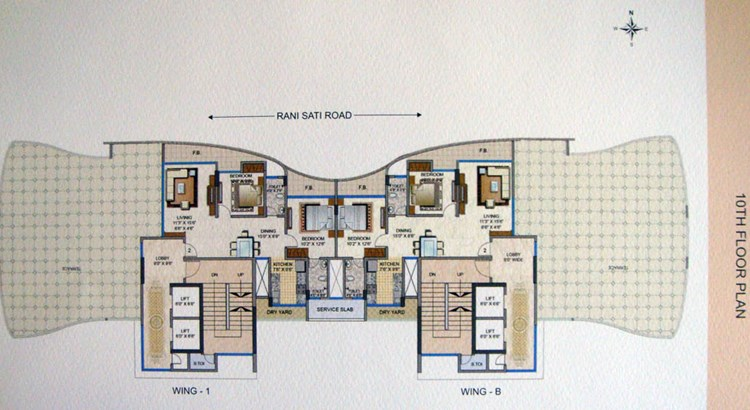 ABT Apartments Floor Plan 3