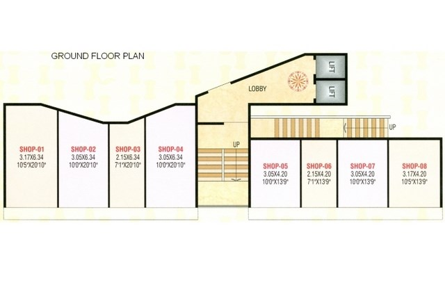Shree Jeevdhani Heights Floor Plan