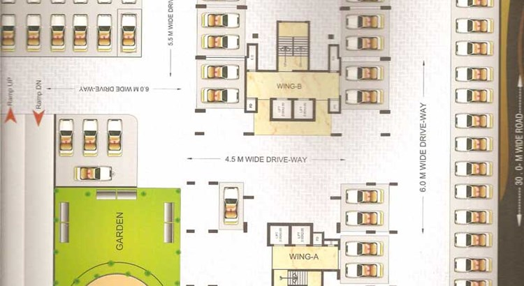 Neelkanth Heights Floor Plan 1