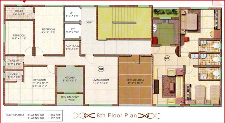 Athashri Floor Plan 1