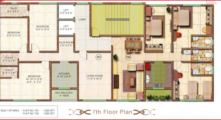 Athashri Floor Plan 2