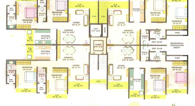 Sheth Garden Floor Plan 1