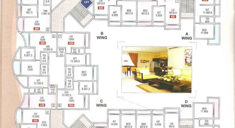 Sai Kutir Floor Plan 1