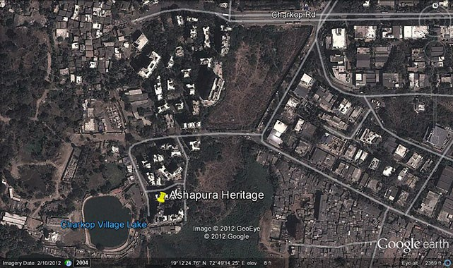 Ashapura Heritage Google Earth
